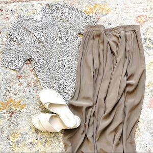 Eileen Fisher • Silk Maxi Skirt